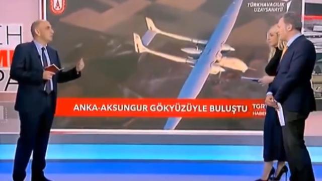 Aksungur Yunan medyasında: Türkiyenin silahları kafamızı karıştırıyor