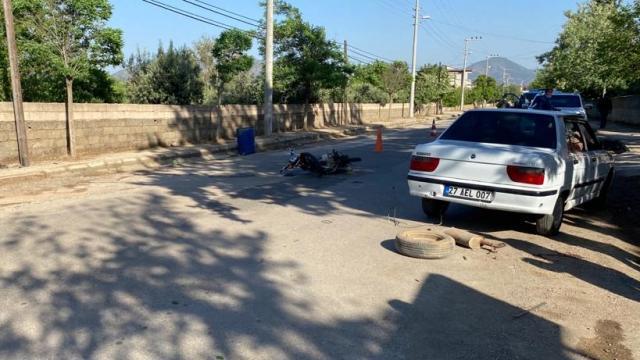 Gaziantepte kamyonetle çarpışan motosikletin sürücüsü hayatını kaybetti
