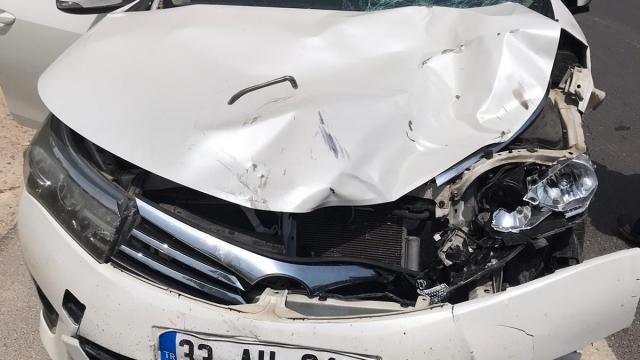 Otomobil, elektrikli bisiklete çarptı: 1 ölü, 1 yaralı