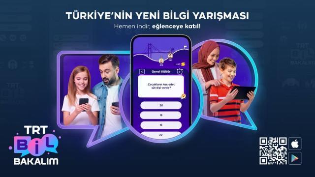 Türkiyenin yeni bilgi yarışması: TRT Bil Bakalım