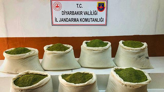 Diyarbakırda 221 kilogram uyuşturucu madde ele geçirildi