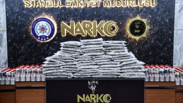 İstanbulda 2 operasyonda 109 kilo 360 gram uyuşturucu ele geçirildi