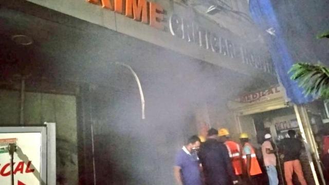 Hindistanda yangın: 4 ölü