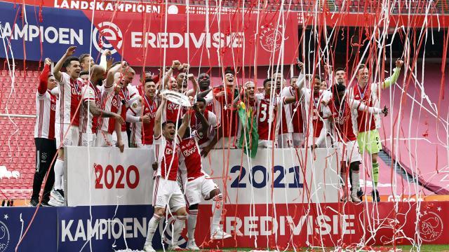 Hollandada şampiyon Ajax