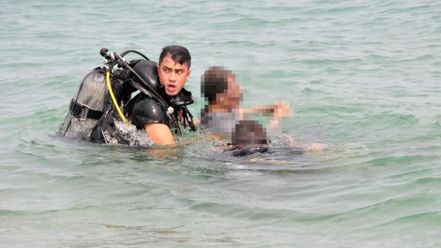 Antalyada denizde erkek cesedi bulundu