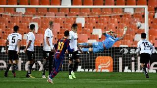 Barcelona, Valencia deplasmanında kazandı