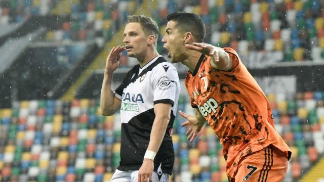 Cristiano Ronaldo attı Juventus kazandı