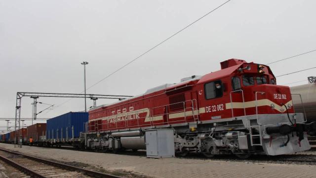 Demir yolu yük taşımacılığındaki artış devam ediyor
