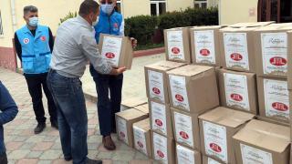 Diyanet İşleri Türk İslam Birliğinden Gürcistan'da ihtiyaç sahibi ailelere gıda yardımı