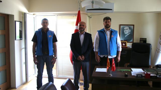 Almanya DİTİBden Kuzey Makedonyada burs ve ramazan yardımı