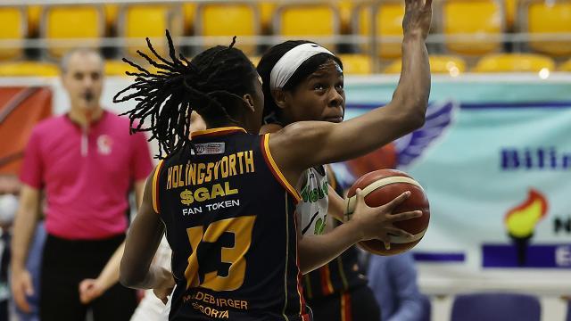 Kadınlar Basketbol Süper Liginde ikinci finalist belli oluyor