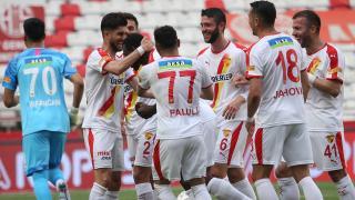 Göztepe Antalya'da 3 golle kazandı