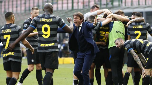 İtalyada şampiyon Inter oldu