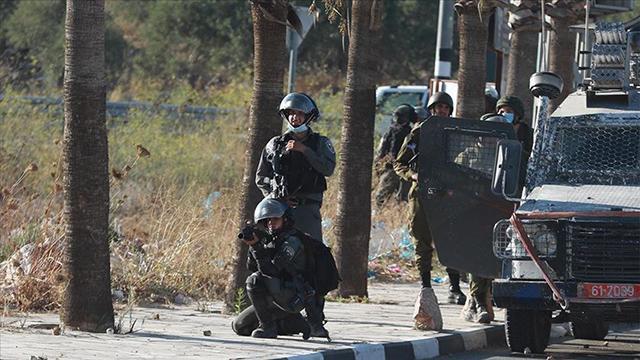 İsrail güçleri Batı Şeriada 5 Filistinliyi yaraladı
