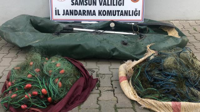 Jandarmadan kaçak avcılara 10 bin 538 lira ceza