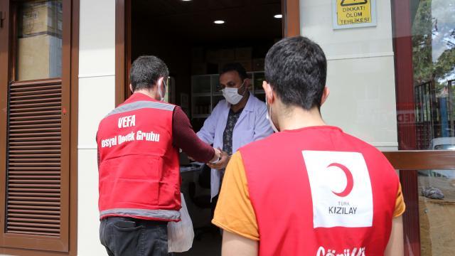Sivasta Vefa Sosyal Destek ekipleri vatandaşın her türlü ihtiyacı için seferber oluyor
