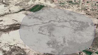 Konya'da 1 kilometrekarelik alanda 100'ün üzerinde obruk belirlendi