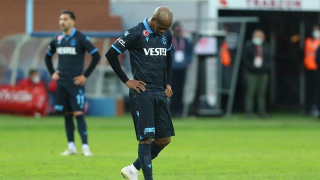 Trabzonsporda Nwakaeme 14 haftadır suskun