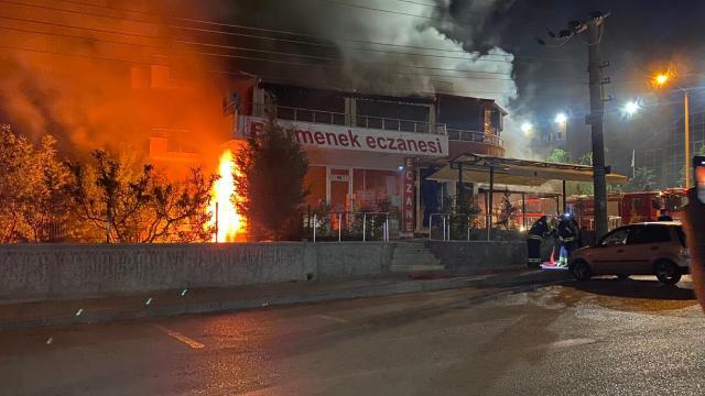 Konyada kapalı restoranda patlama