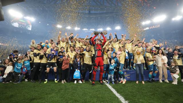 Rusyada şampiyon Zenit
