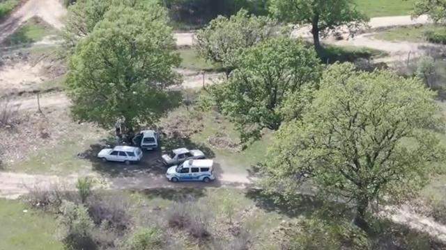 Kırklarelinde kısıtlamayı ihlal edip piknik yapanlar drone ile tespit ediliyor