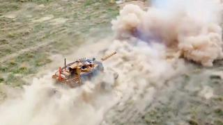 ASELSAN'ın VOLKAN-M Atış Kontrol Sistemi tankla test edildi