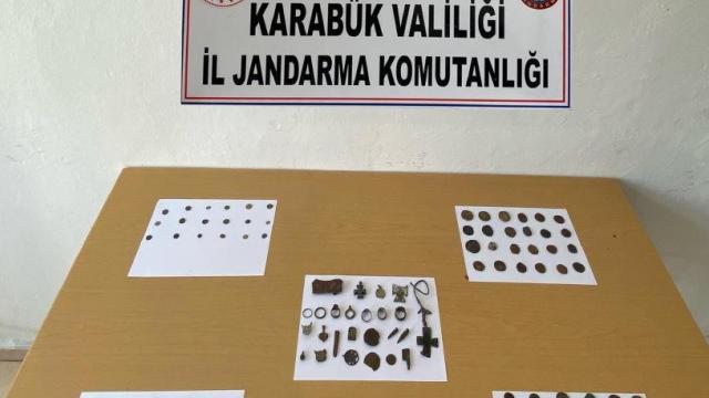 Karabükte tarihi eser operasyonu: 3 gözaltı