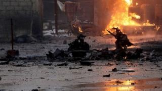Terör örgütü PKK'dan Bab'a füzeli saldırı