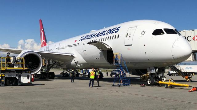 THYden Vancouvera ilk uçuş gerçekleşti