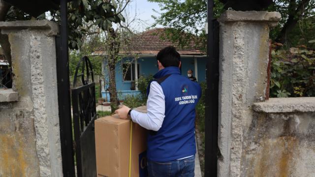"""Düzce Belediyesi """"Evde Öz Bakım Hizmeti"""" ile ihtiyaç sahiplerinin yardımına koşuyor"""