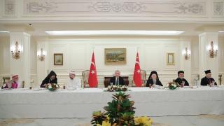 Cumhurbaşkanı Erdoğan azınlık cemaati temsilcileriyle buluştu