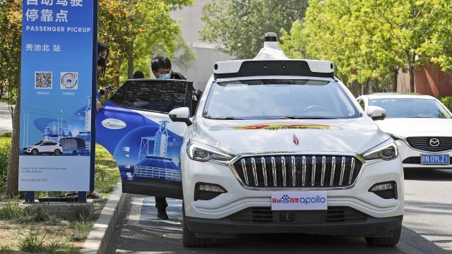 Çinli Baidu, sürücüsüz taksi hizmetini başlattı