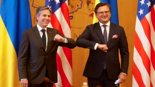 ABD Dışişleri Bakanı Blinken Ukraynada