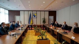 Bakan Çavuşoğlu Bosna-Hersek'te temaslarda bulundu