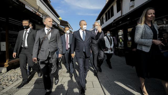 Dışişleri Bakanı Çavuşoğlu Bosna Hersekte