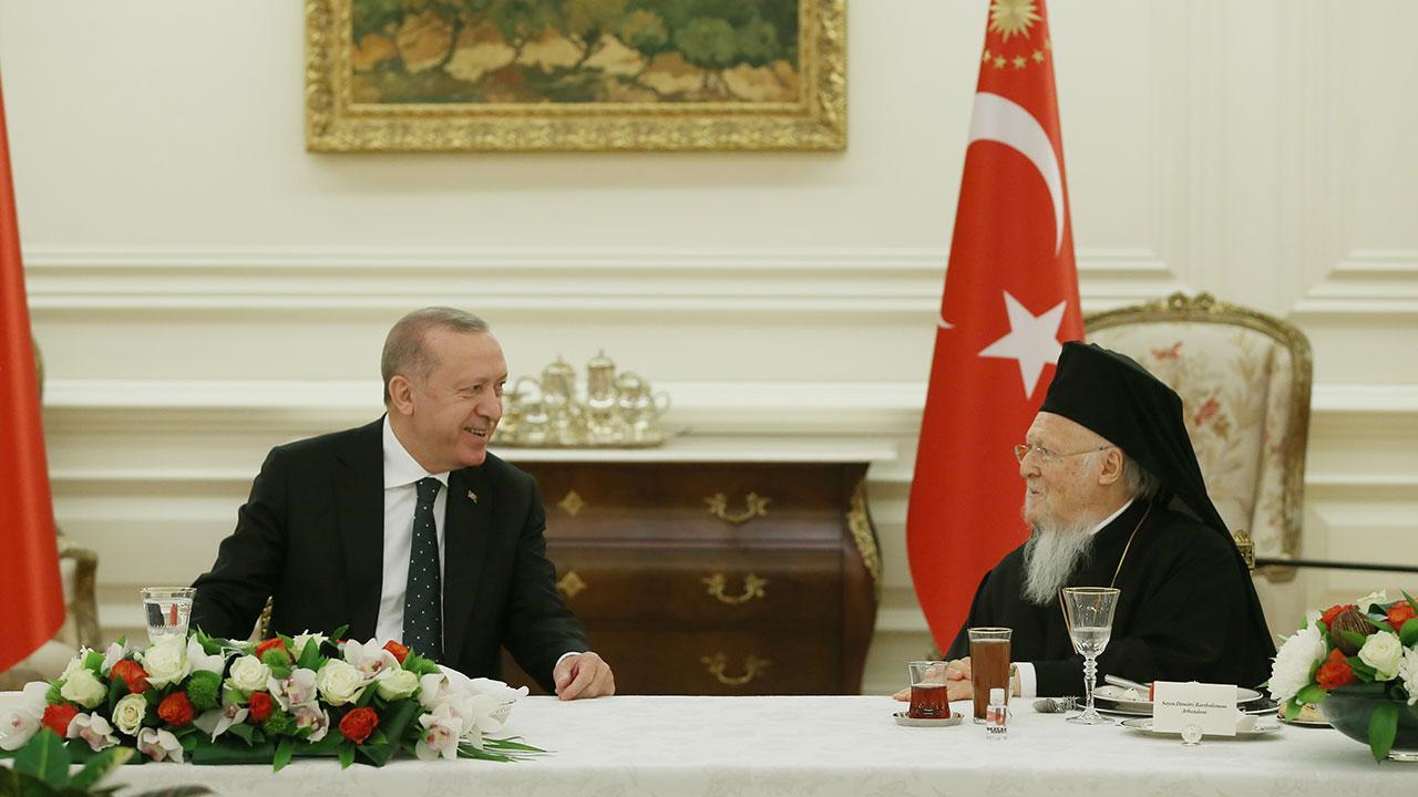 Erdoğan azınlık cemaati temsilcileriyle buluştu