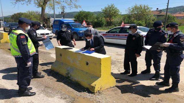 Çanakkale Valisi İlhami Aktaş Yenice ilçesindeki uygulama noktasını ziyaret etti