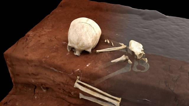Afrikada en eski insan mezarı keşfedildi