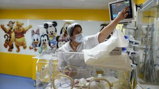 Fas'ta dünyaya gelen dokuz bebeğe yoğun ilgi