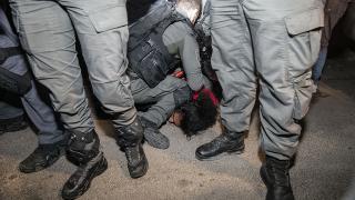"""İsrail polisinin gözaltı zulmü """"George Floyd"""" olayını hatırlattı"""