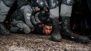 İsrail güçlerinden Filistinlilere saldırı