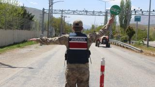 Malatya'da jandarma ekipleri denetim yaptı