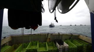 Fransız Donanması, Jersey adasına 2 gemi gönderdi