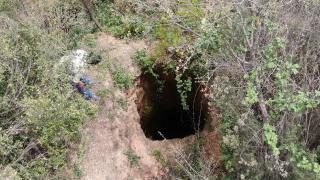 Sultangazi'de kaçak kazı yapan defineciler ormanı delik deşik etti
