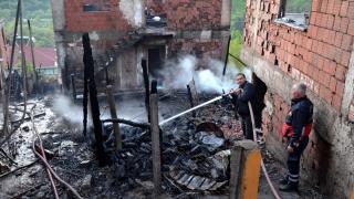 Kastamonu'da çıkan yangında 6 ev hasar gördü