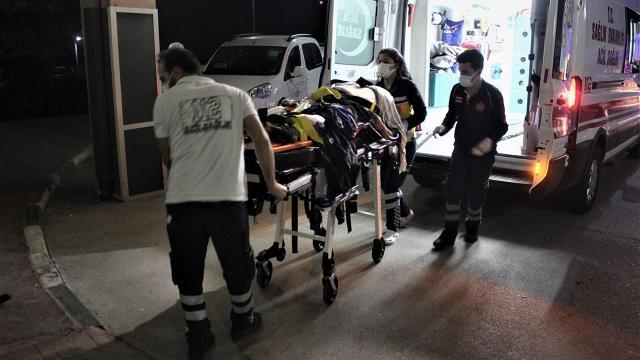 Osmaniyede minibüs takla attı: 16 yaralı