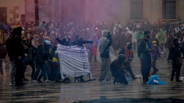 Kolombiyadaki gösterilerde can kaybı 26ya çıktı