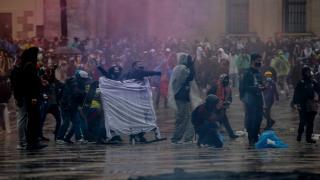 Kolombiya'daki gösterilerde can kaybı 26'ya çıktı
