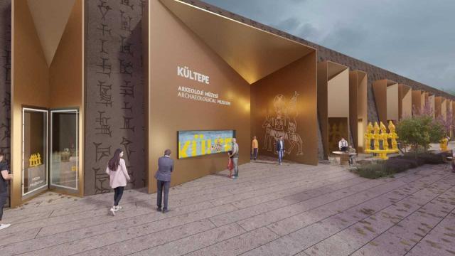 Kayseride Kültepe Müzesinin projesi tamamlandı