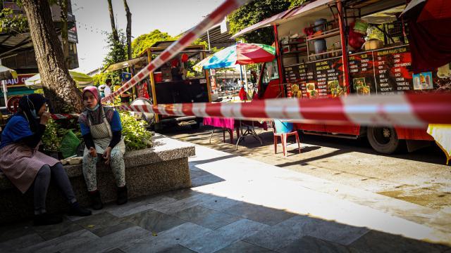 Malezyada sokak kısıtlamasının kapsamı genişletildi